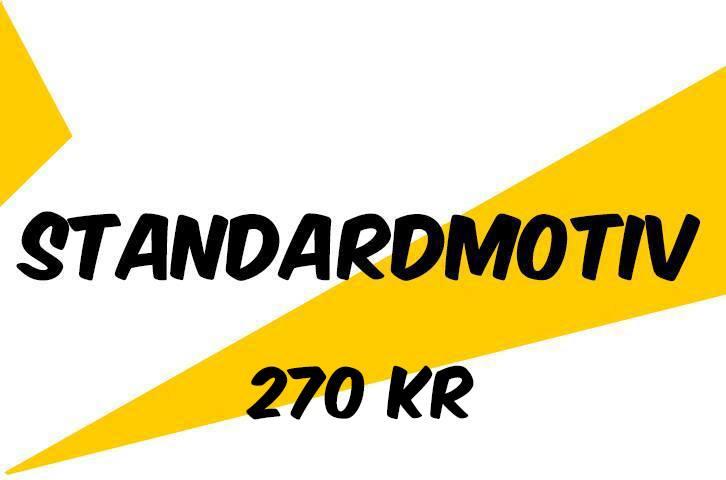 Tävlingsmapp med standardmotiv